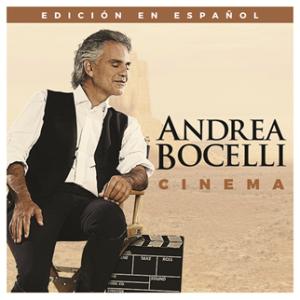 """EL NUEVO ÁLBUM """"CINEMA""""  DE ANDREA BOCELLI"""