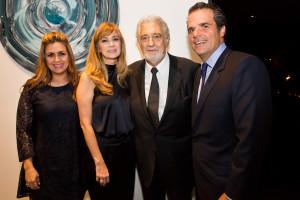 Placido Domingo en concierto en Miami