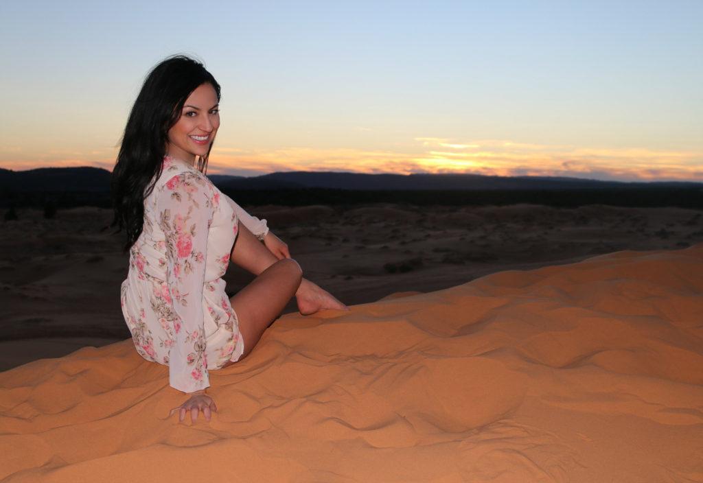 Coral Pink Sand Dunes, Utah @StephBeTravel @MissChloeLynn