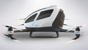 FIRST PASSENGER DRONE
