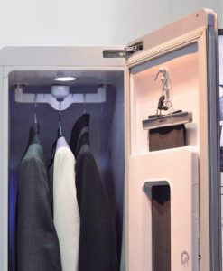 SMART CLOSETS THAT WASH, DISINFECT, FRESHEN & IRON YOUR CLOTHES