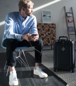 Los equipajes de viajes de lujo con el toque de alta Tecnología