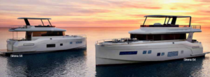 SIRENA  YACHTS  WORLD  DEBUT AT YACHTS MIAMI BEACH