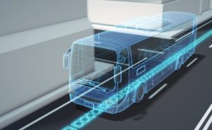 Calles inteligentes cargan automóviles eléctricos sin enchufes