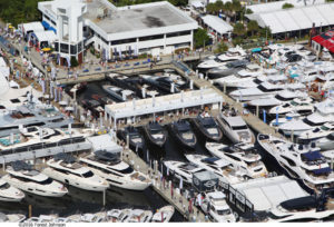 VIP Club at Fort Lauderdale Boat Show