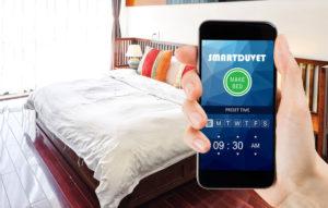 No tendrás que tender la cama con Smart Duvet
