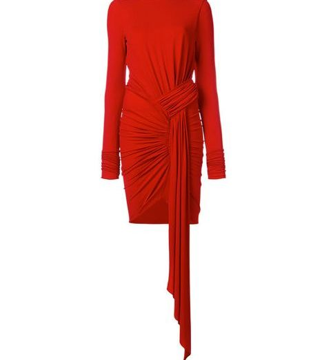 Alexandre Vauthier. Red. Rojo. Moda Navidad. Lady in Red