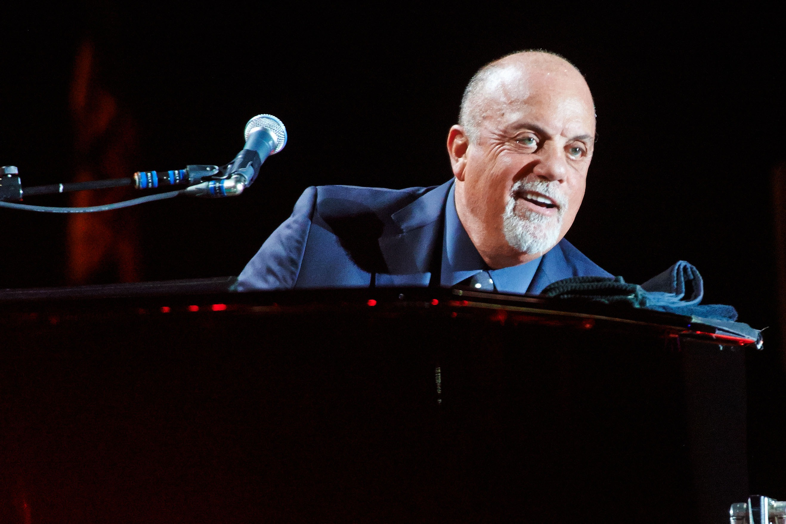Billy Joel Performs In Manchester