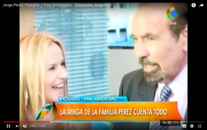 Jorge Pérez, Pampita y Pina Armentano – Entrevista Jorge Rial