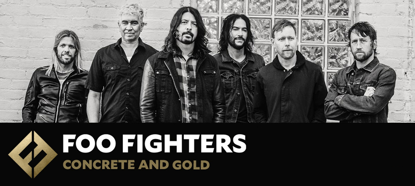 Foo Fighters Concrete and Gold Tour