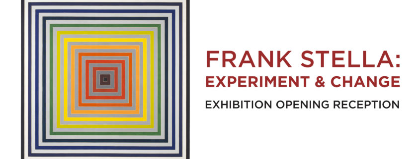 Frank Stella Experiment and Change