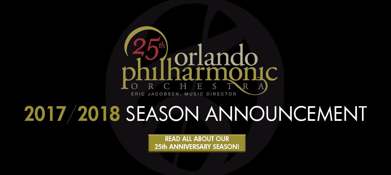 The Orlando Philharmonic 25th Anniversary Season Gala Concert