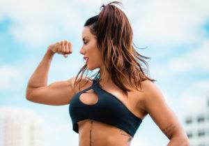 NIA ISAZA  La chica fitness con más de dos millones de seguidores