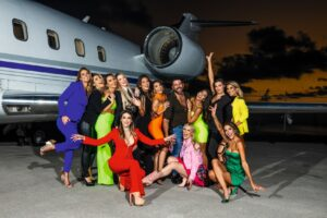 HL Magazine festeja sus 9 años con las estrellas del Palm House TV