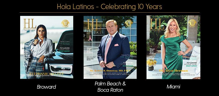 Hola Latinos News - Celebrating 10 Years